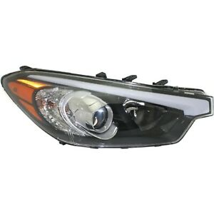 Headlight For 2014 2015 2016 Kia Forte5 Forte Right With Bulb