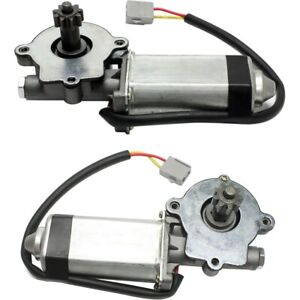 Window Motor For 84 93 Ford Mustang Rear Driver And Passenger Side Set Of 2