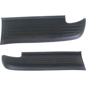 Bumper Step Pad Set For 2000 2006 Toyota Tundra Rear Left Right 2pc