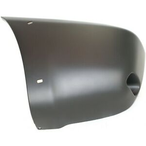 Bumper End For 2001 2005 Toyota Rav4 With Fender Flare Holes Rear Left Primed