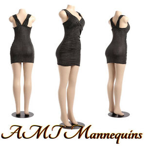 Female Sexy Mannequin Full body plastic Stand display Manikin b27 pickup