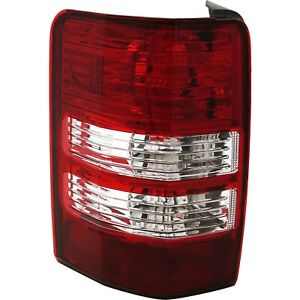 Tail Light For 2008 2012 Jeep Liberty Driver Side
