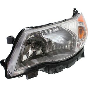 Headlight For 2009 2013 Subaru Forester Driver Side W Bulb