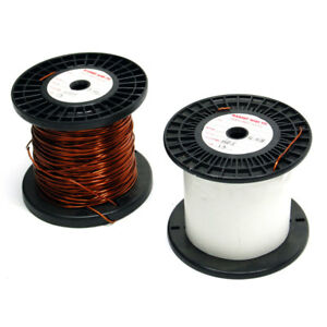 New Roll Of 13 Awg Gauge Copper Magnet Wire 8 4 Pounds Hei Insulation