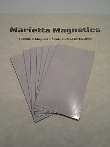 500 Self adhesive Peel and stick Business Card Size Magnets