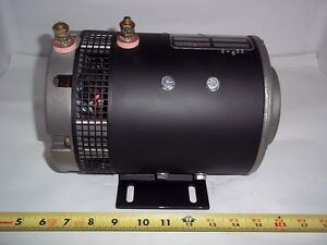 91096 Fits Crown Forklift New Motor 72 Volt Replaces Prestolite msv 4001 091096