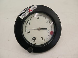 Usg Gauge 0 15 Psi 3006 Steel Pressure Gauge