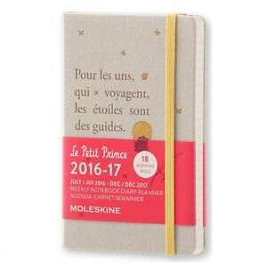 2017 The Little Prince Limited Pocket Size Schedulebook Diary Moleskine Japan