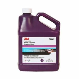 3m 36061 Perfect it Ex Rubbing Compound Gallon