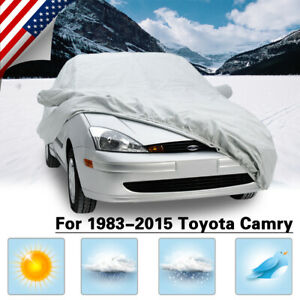 Car Cover Durable For 1983 2015 Toyota Camry Dustproof Waterproof Breathable
