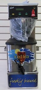Curtis cbp10000 3 Gal Low Profile Combo Iced Tea coffee Brewer
