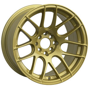 Xxr 530 17x7 Rims 5x100 114 3 35 Gold Wheels Set Of 4