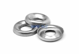 1 4 Cup Washer Countersunk Finishing Washer Nickel Plated Pk 2500
