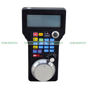 Cnc Usb Wireless Remote Handheld Handwheel Hand Wheel 3 4 Axis Control System