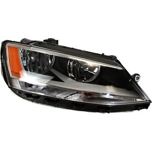 Headlight For 2011 2015 2016 2017 2018 Volkswagen Jetta Right With Bulb