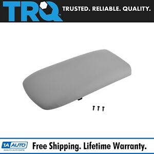 Front Light Gray Center Console Lid For Ford Explorer Mercury Mountaineer Truck