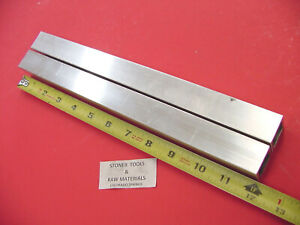 2 Pieces 1 1 2 x 1 1 2 x 1 8 Wall X 12 Long Aluminum Square Tube 6063 T52