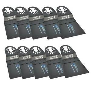 Versa Tool Ab10d 65mm Hcs Multi tool Saw Blades 10 pk Fits Fein Multimaster