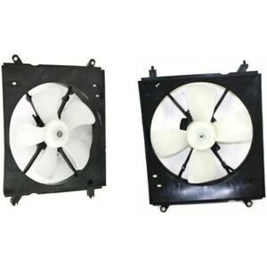 Radiator Cooling Fan W A C Condenser Fan For 97 99 Toyota Camry Left