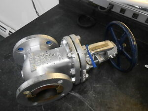 Powell 3 0 1503fc8gxxx 3 Wcb Class 150 Flanged Gate Valve