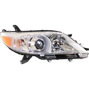 Headlight For 2011 2015 2016 2017 2018 Toyota Sienna Right With Bulb