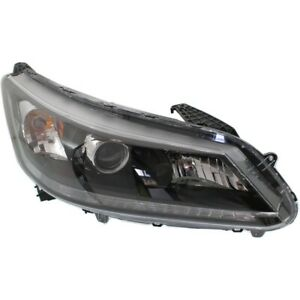 Headlight For 2013 2014 2015 Honda Accord Ex Ex L Lx Sport 4cyl Sedan Right