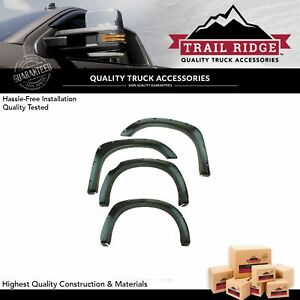Trail Ridge Fender Flare Kit Front Bolt On Rivet Type Smooth Kit For Tundra