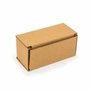 25 Packing Boxes 6x3x3 Small Packaging Mailing Moving Cardboard New