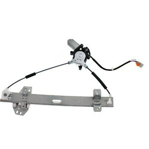 Window Regulator For 99 03 Acura Tl Front Driver Side Power W Motor W 4 pins