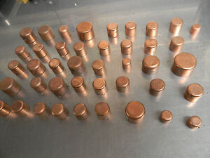 Cap Copper Plumbing Fitting Bag Of 42 Pcs Box1039