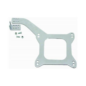 Rpc Carburetor Throttle Cable Bracket R2333 Holley Afb Linkage Plate Chrome
