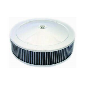 Rpc Air Cleaner Assembly R8021 Muscle Car Chrome Steel Round 14 000 3 000