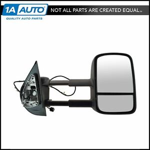 Oem 19202235 Turn Signal Power Heated Manual Extending Tow Mirror For Gm Pickup