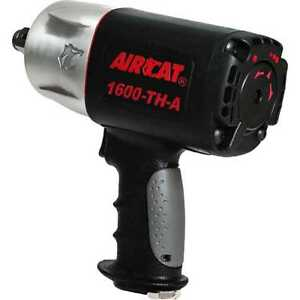 Aircat 1600 Th A 3 4 Drive Composite Super Duty Impact Wrench With Free Ship
