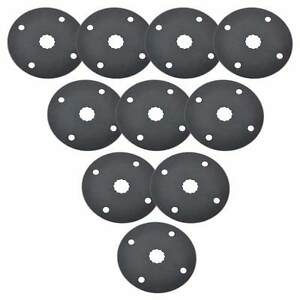 Sb10h 80mm Hss Circular Multi tool Saw Blades 10 pack Fits Fein Multimaster