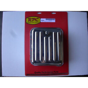 Rpc Automatic Transmission Oil Pan R9530 Finned Chrome Steel For Ford C 4