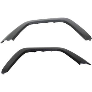 Fender Flares Set For 2008 2012 Jeep Liberty Front Primed Thermoplastic 2pc