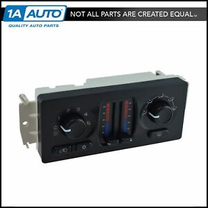 Dorman Heater A c Air Conditioning Hvac Control Module Assembly For Gm Truck