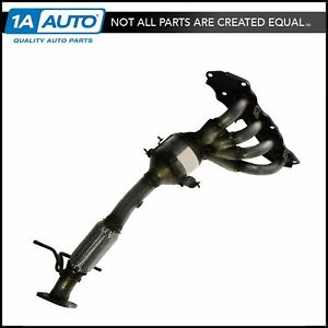 Exhaust Manifold W Catalytic Converter Assembly For Mazda 3 5 2 0l 2 3l