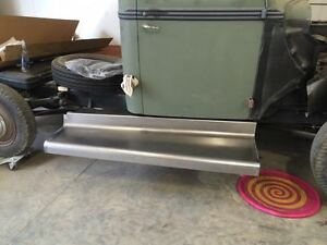 Ford 1 Ton Truck Steel Running Board Set 1938 1939 Made In Usa