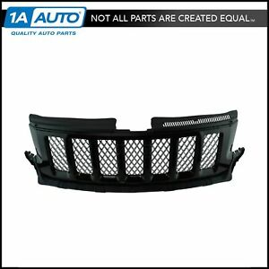 Oem Altitude Black With Chrome Mesh Grille For Jeep Grand Cherokee Suv Truck New
