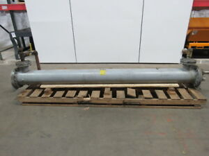American Industrial Ab 2014 c10 tp Heat Exchanger 225psi Shell 150psi Tube