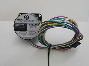 Vexta Ph264 02 a2 2 Phase 12vdc 0 4 Amps 1 8 Degree Stepping Motor