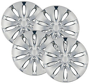 2008 2012 Honda Accord Chrome Hub Caps Wheel Covers