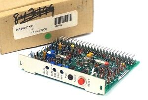 New Ge Fanuc Ic3600stkk1 Temperature Control Board