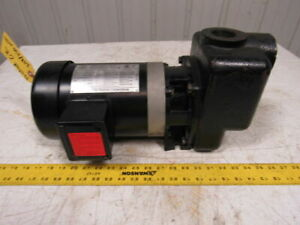 Worldwide Electric Atj34 36 56jb 208 230 460v 3 4 Hp 3450rpm Pump 1 1 2 Ports