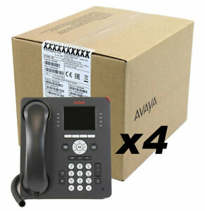 Avaya 9611g Ip Voip Phone Global 700510904 4 Pack New