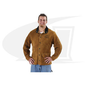 Side Split Cowhide Welding Coat Multiple Lengths Available