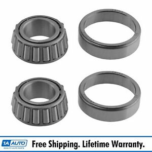 Front Outer Wheel Bearing Set Of 2 For Ford Mercedes Jaguar A12 Brand New
