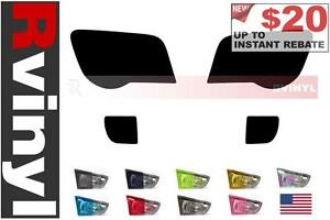 Rtint Headlight Tint Precut Smoked Film Covers For Chrysler Crossfire 2004 2008